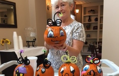 Time to Paint Pumpkins!