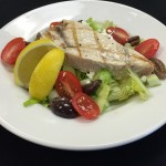 Grilled Swordfish Salad: