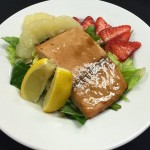 Smoked Salmon Salad: