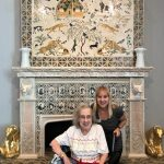 Mary and Margie are excited to see all the different types of artwork in each of the galleries.